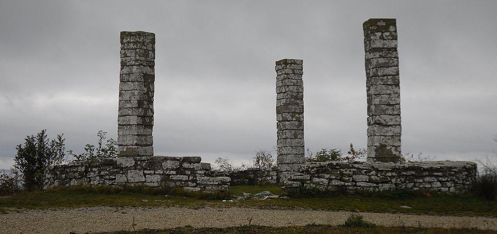 Остатки виселицы XIII в. в Висбю, Швеция