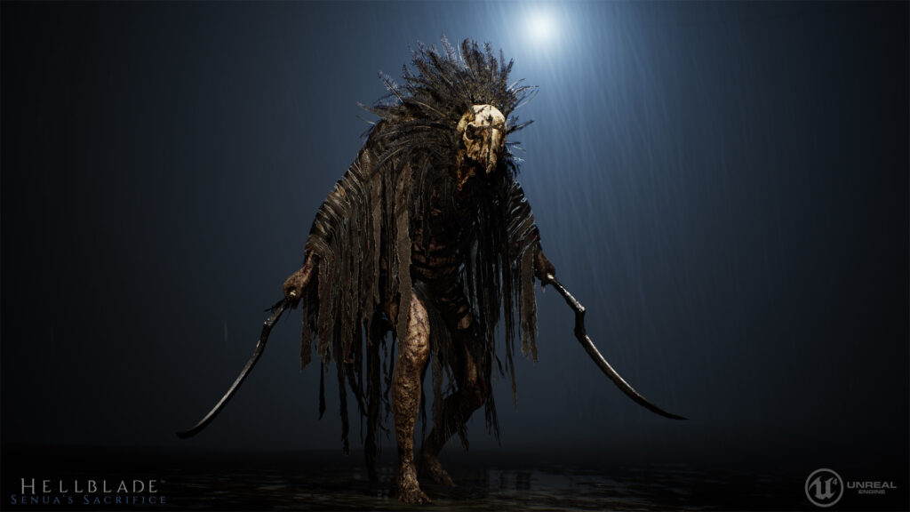 """Джефф Гослан, """"Вальравн"""" из видеоигры Hellblade"""