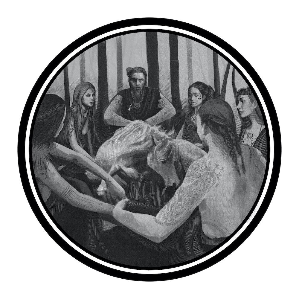 """Рим Битик, """"Божества из Второго Мерзебургского заклинания"""", А2"""